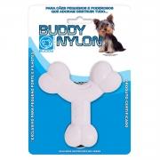 Mini Mordedor para roer Ossinho Nylon para cães filhotes ou adultos de pequeno porte Buddy Toys