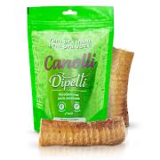 Mordedor Natural Kit com 2 Traquéias Bovinas Desidratadas Canolli Dipetti para cães