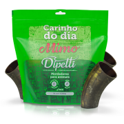 Mordedor Natural Mimo - Kit com 3 Chifres Bovinos Dipetti para cães