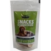 Petisco Mix de Frutas Banana e Maçã Natural Saudável para cães e gatos Cão Nutri