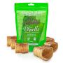 Mordedor Natural Kit com 9 Mini Traquéias Bovinas Mini Canolli Dipetti para cães