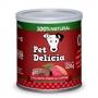 Pet Delícia Caçarolinha de carne para cães 320g - Alimento úmido 100% natural