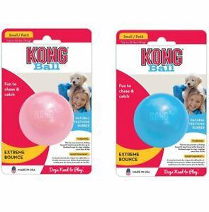 Bola Borracha Maciça para Filhotes Puppy Ball KONG