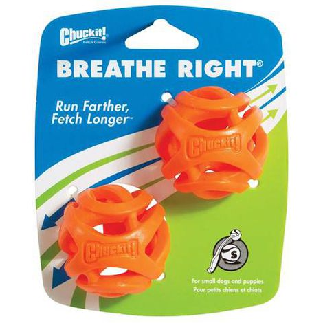 Bola Breathe Right Chuck It para cães