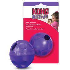 Bola recheável Kong dispenser Treat Ball