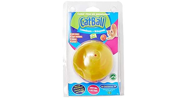 Bola recheável Dispenser ração e petiscos Cat Ball Pet Games para gatos