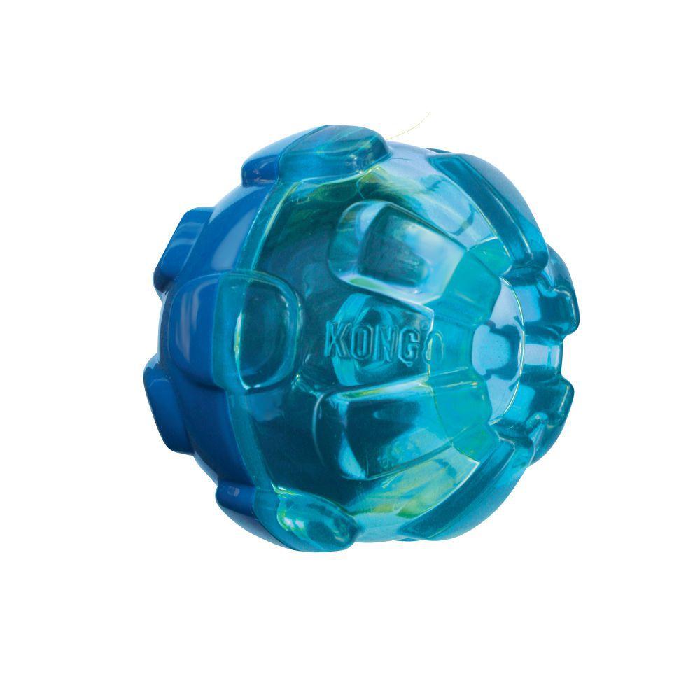 Bola Recheável para colocar Petiscos KONG Rewards Ball para cães