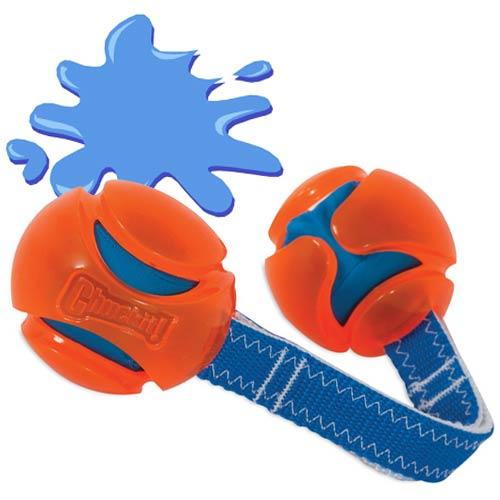 Brinquedo Aquático Hydro Duo Tug Chuck It para cães