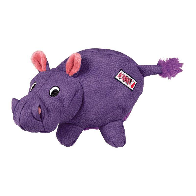 Brinquedo de Pelúcia Hipopótamo Hippo Phatz Kong para cães pequenos