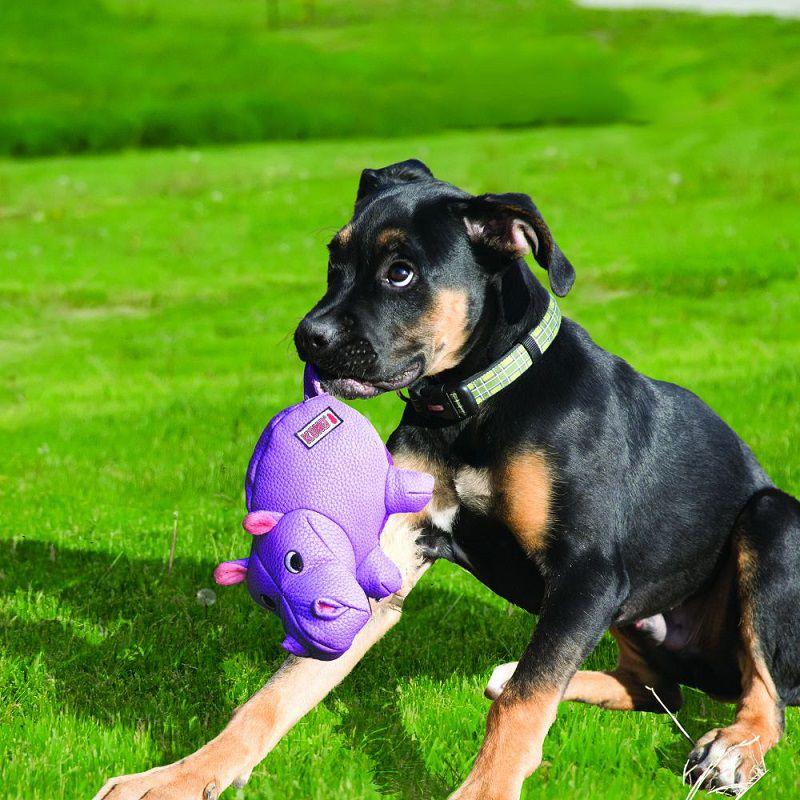 Brinquedo de Pelúcia para cães Hipopótamo Hippo Phatz Kong