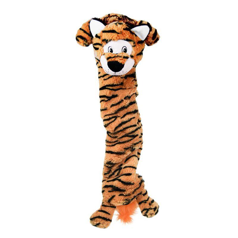 Brinquedo de Pelúcia para cães Stretchezz Tigre Jumbo Kong