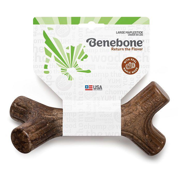 Brinquedo de roer para cães Maplestick Benebone