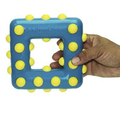 Brinquedo Dotz Square KONG para cães