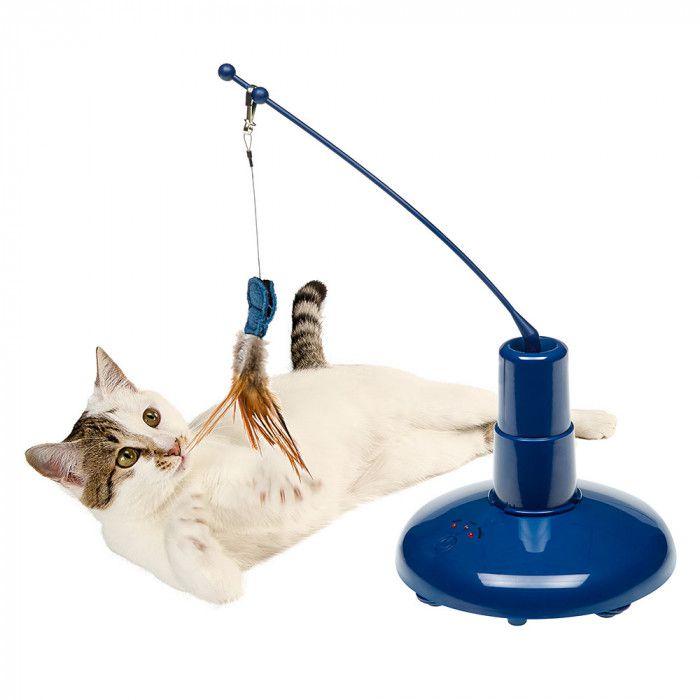 Brinquedo Eletrônico Interativo para gatos Raptor