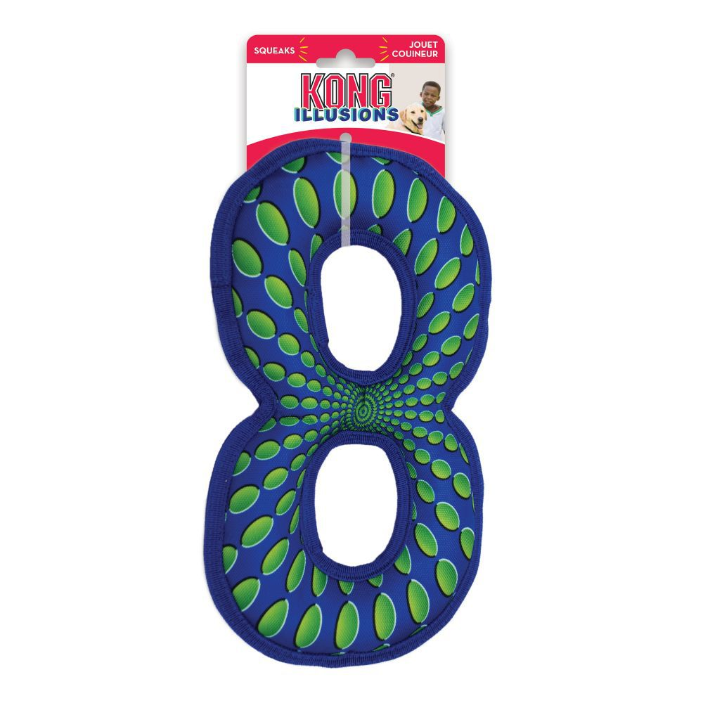 Brinquedo Interativo Kong Ilusions Figure Eight para cães