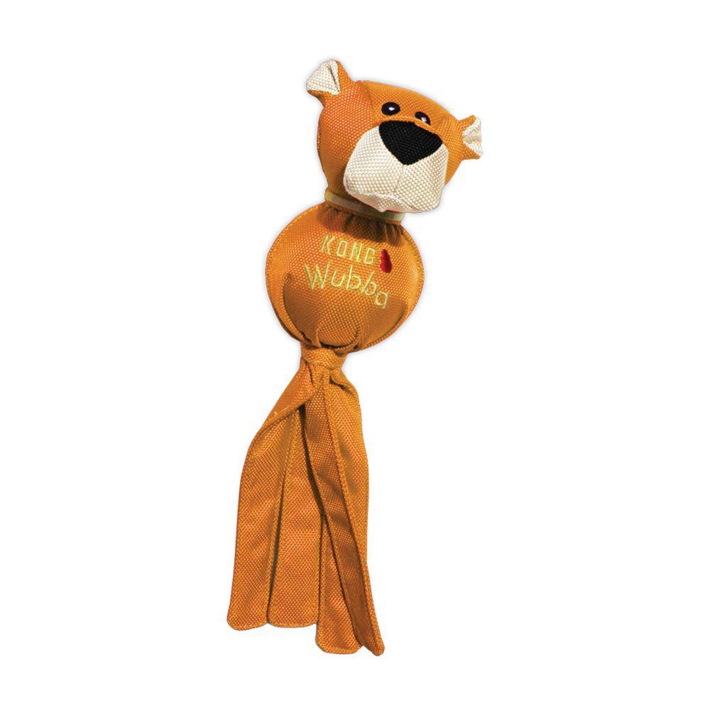 Brinquedo Interativo Kong Wubba Ballistic Friends para cães