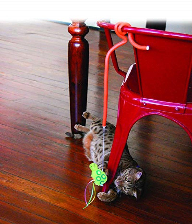 Brinquedo Interativo para gatos Connects Benderz Teaser Crab Kong