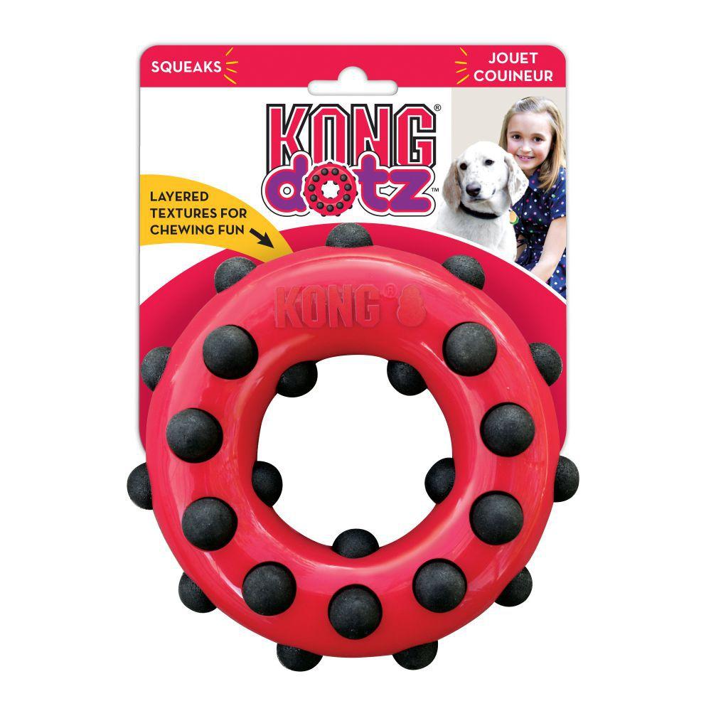 Brinquedo KONG Dotz Circle para cães