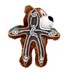 Brinquedo  Kong Wild Knots -Urso de Pelúcia com corda