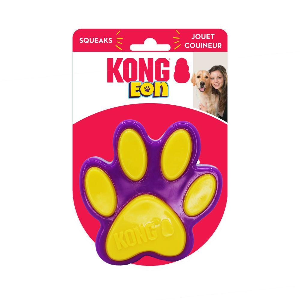 Brinquedo mordedor com apito Kong Eon Paw e aquático para cães