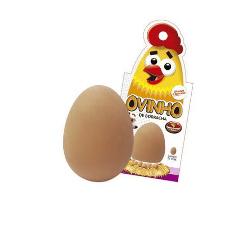 Brinquedo para cães Ovo de Borracha Maciça Furacão Pet