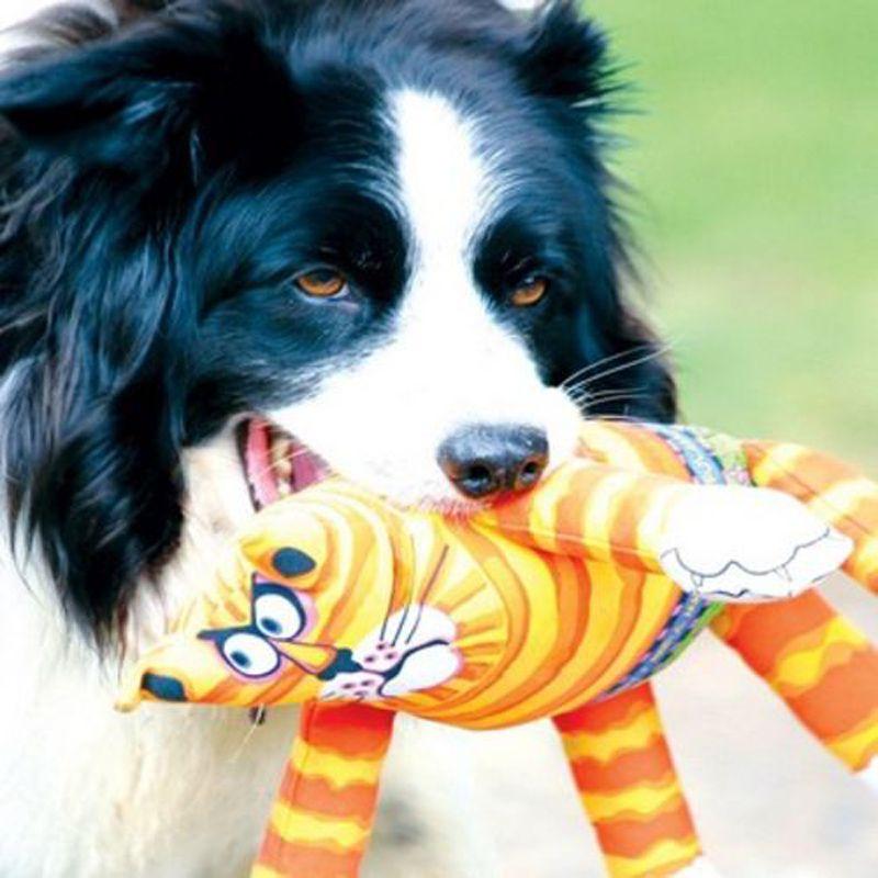 Brinquedo para cães Pelúcia Gato FatCat Terrible Nasty Scaries