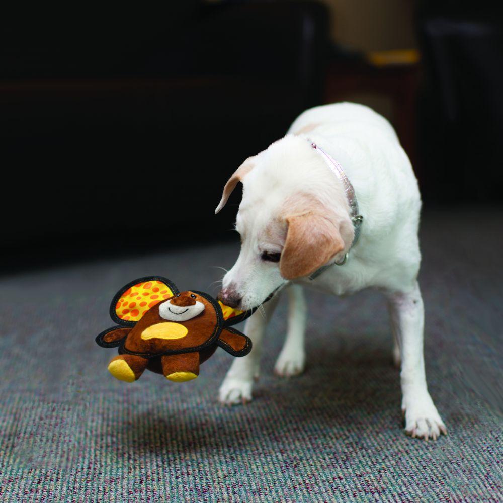 Brinquedo para cães Pelúcia Kong Ballistic Ears Mouse M