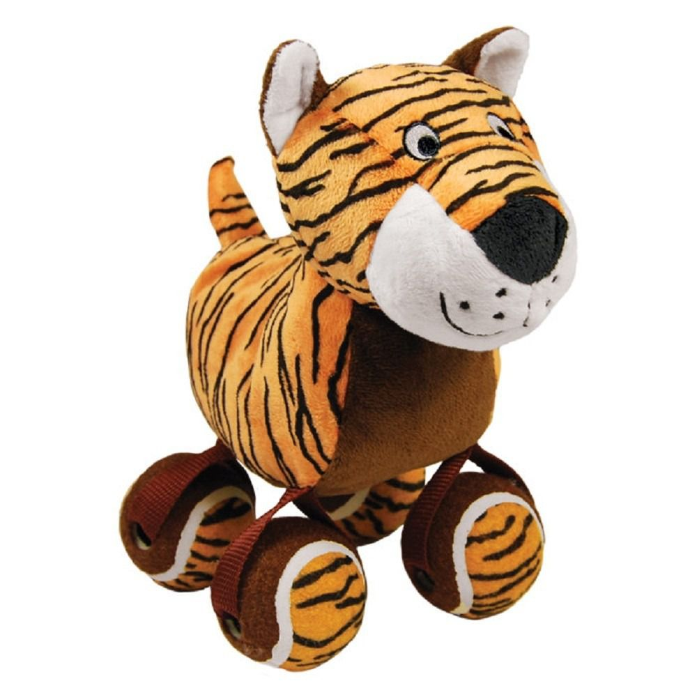 Brinquedo para cães Pelúcia Tennishoes Tigre KONG
