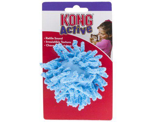 Brinquedo para gatos bolinha de tecido KONG Moppy ball