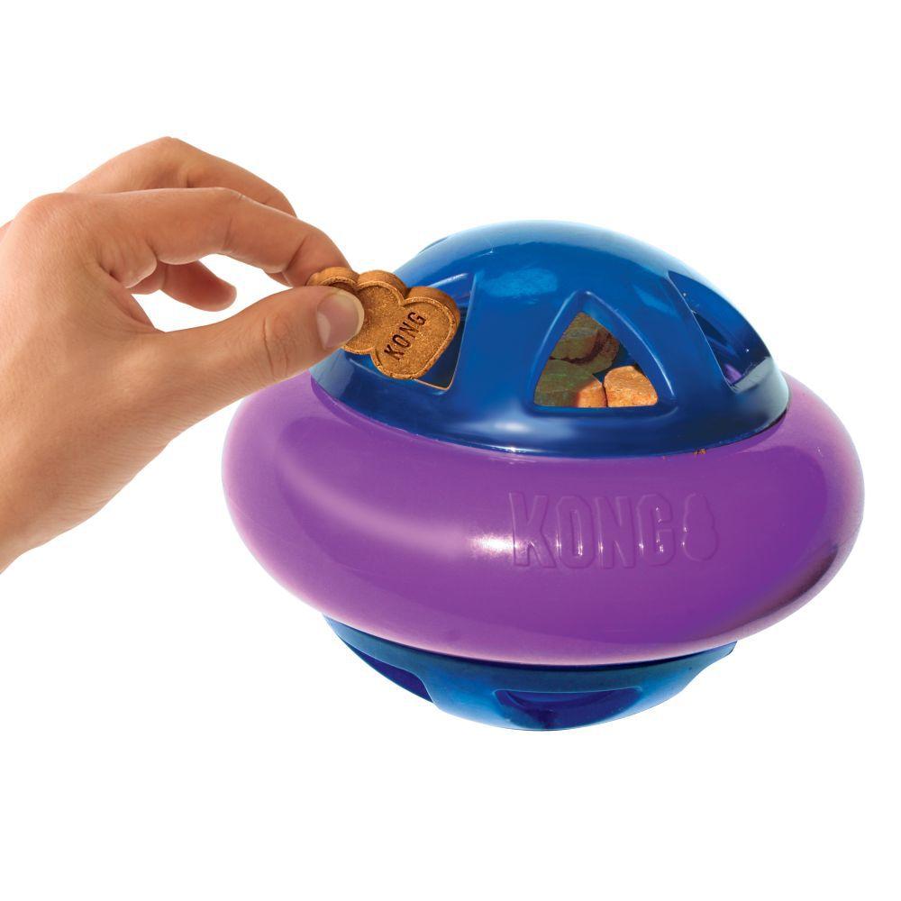 Brinquedo Recheável KONG Hopz