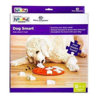 Brinquedo Tabuleiro Dog Smart Nina Ottosson para cães e gatos Nível iniciante