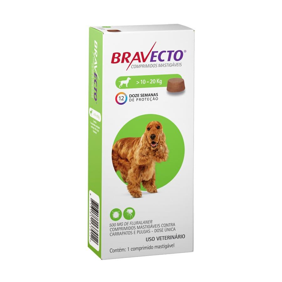 Combo 2 Bravectos Comprimido Cães De 10 A 20kg + 2 Brindes
