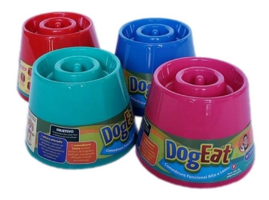 Comedouro Alto Lento Dog Eat Pet Games para cães