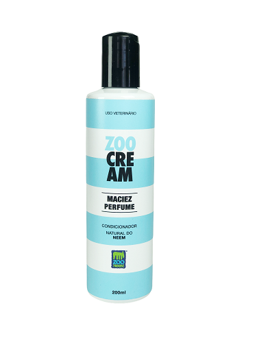 Condicionador Natural do Neem - Fragrância suave Zoo Cream para pets