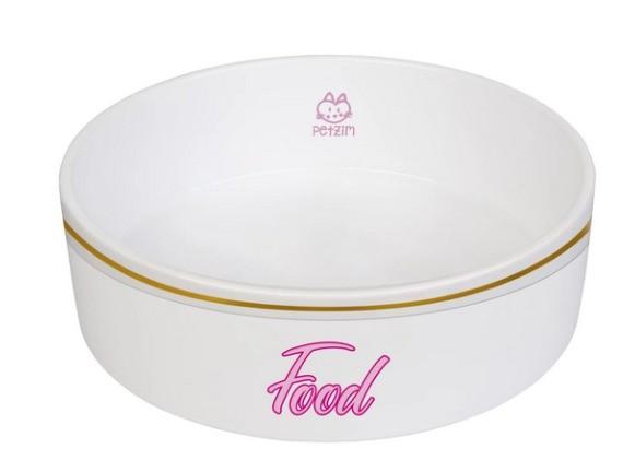 Conjunto Comedouro e Bebedouro Food/Water Porcelana