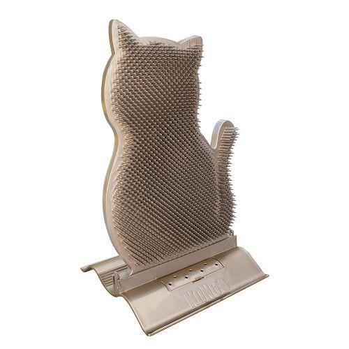 Esfregador Penteador Autolimpeza  para gatos com Catnip KONG Connects Kitty Comber