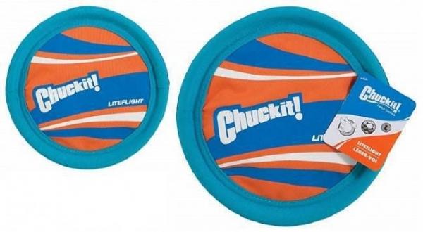 Frisbee Disco LiteFlight Chuck It interativo e aquático