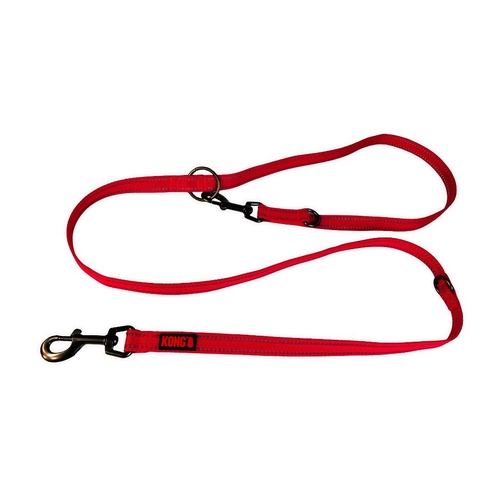 Guia Adjustable Leash Kong Vermelha G