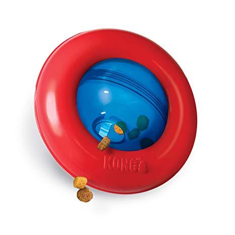 Brinquedo Recheável Interativo KONG Gyro - Dispenser de comida