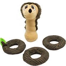 Brinquedo para cães Interativo Jogo de Pelúcia Desafio Porco Espinho