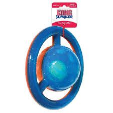 Brinquedo para cães Interativo Bola Jumbler Disco KONG