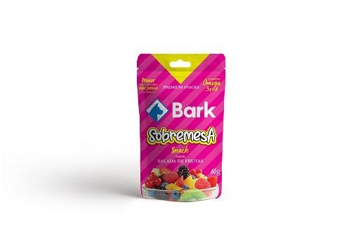 Kit com 9 pacotes de petiscos bifinhos Sobremesa saudáveis Bark para cães