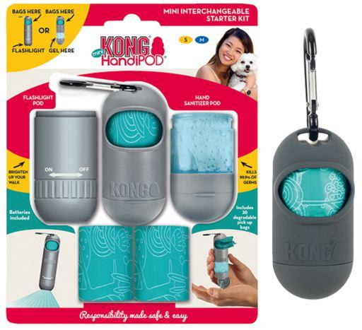 Kit Handipod Starter Kit  KONG ( Cata Caca Lanterna + Alcool Gel)