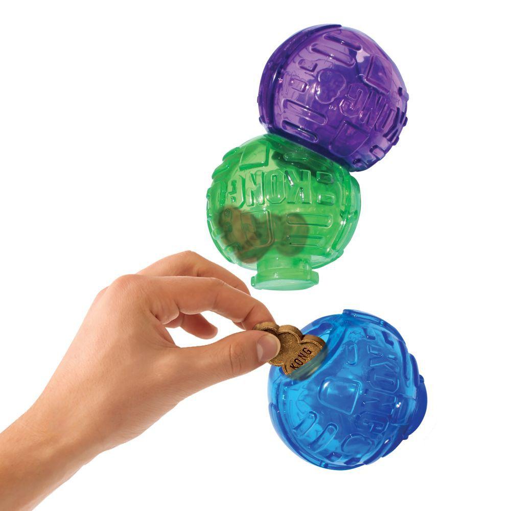 Brinquedo recheável lego Jogo Interativo KONG Lock it