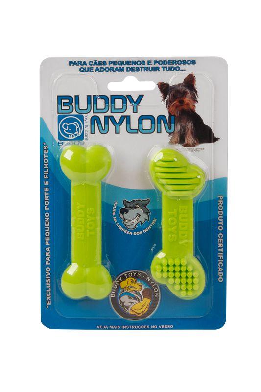 Mini Mordedor para roer para cães filhotes ou adultos de pequeno porte Buddy Toys