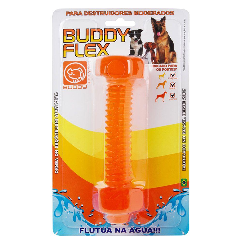 Brinquedo Parafuso Flex Buddy Toys Mordedor macio e aquático para cães