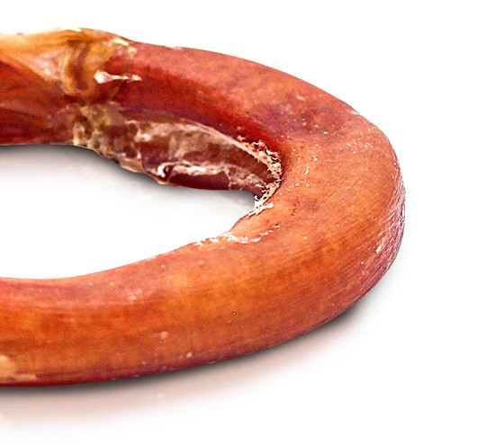 Mordedor Natural Vergalho Donuts Bovino Dipetti para cães