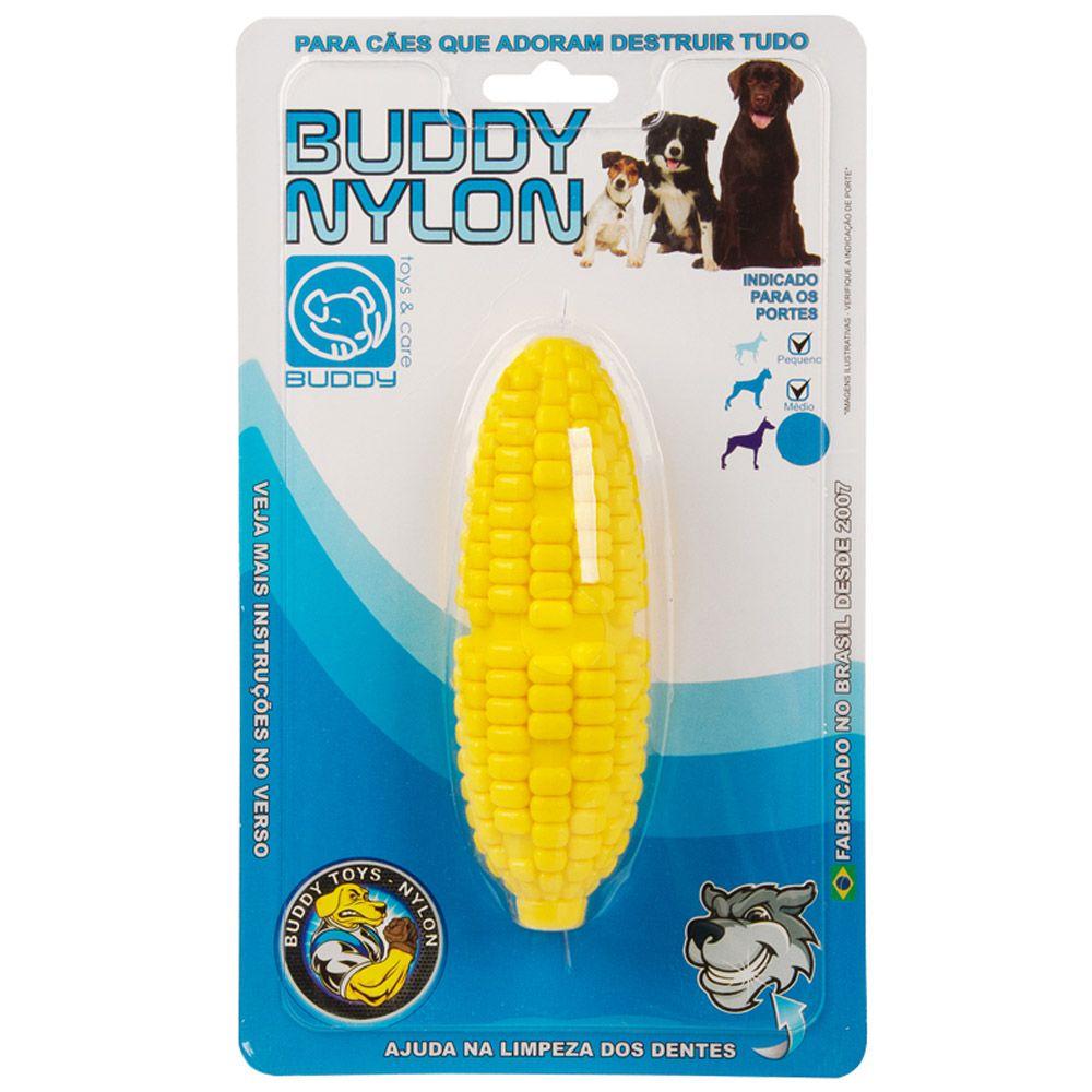 Mordedor para roer Milho de Nylon Buddy Toys para cães