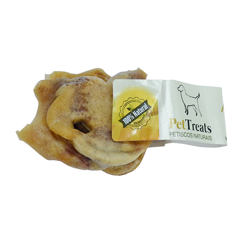 Nuggets Suíno Mordedor Natural Petisco Desidratado para cães Pet Treats