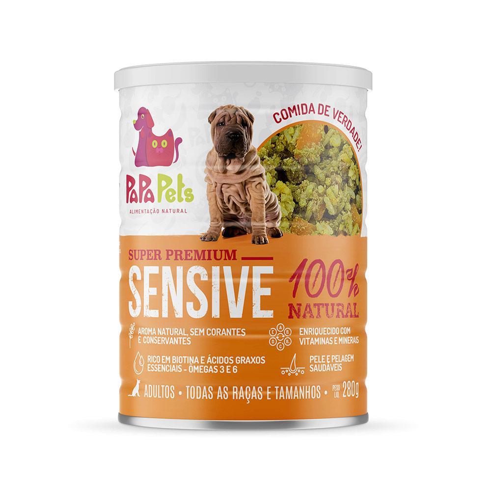 Papapets Sensive - Alimento Úmido Super Premium 100% natural para cães 280g - SEM FRANGO